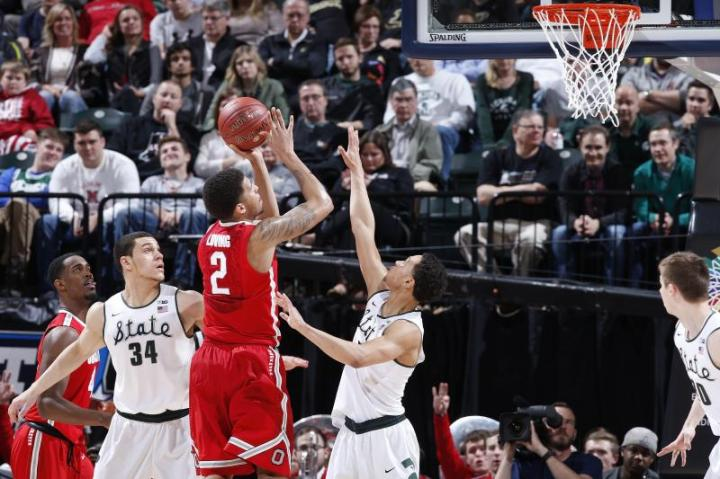 Spartans advance to Big Ten title game